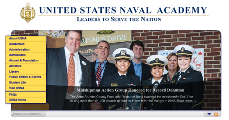 United States Naval Academy screen shot