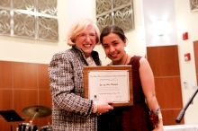 Jazzy Rangel, Merit School of Music graduate