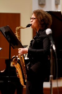 Kamila Hines Muhammad, Merit School of Music graduate