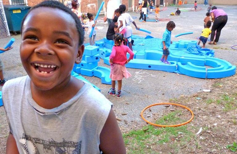 Homeless Children's Playtime Project in Washington DC